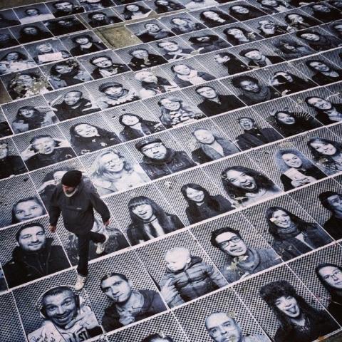 Exposii à New Yorktion de portraits