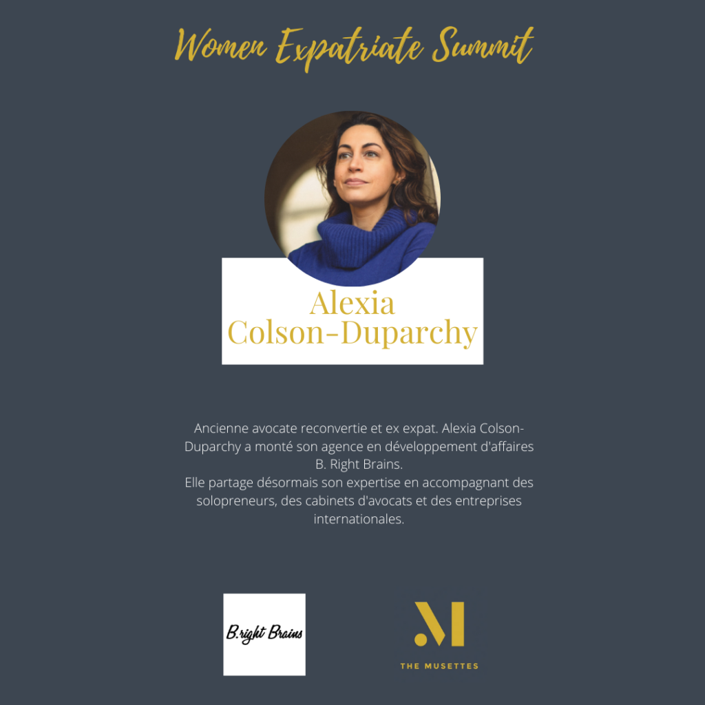 The Musettes - Women Expatriate Summit - Alexia Colson-Duparchy - B.right Brains