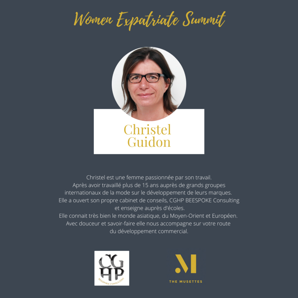 The Musettes - Women Expatriate Summit - Christel Guidon - CGHP Beespoke Consulting