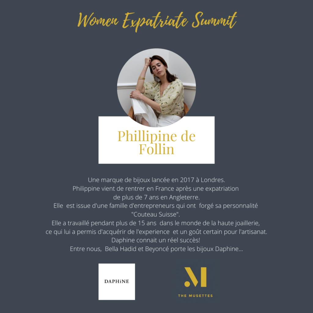 The Musettes - Women Expatriate Summit - Philippine de Follin - Daphine